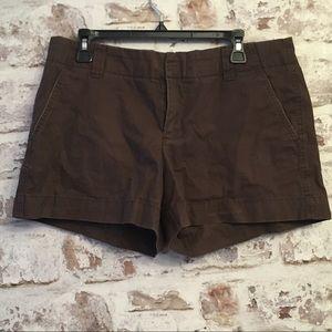 GAP Favorite Chino Brown Jean Shorts